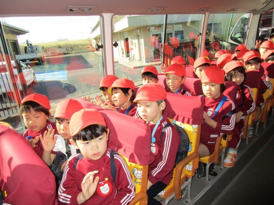 お別れ遠足 鉄道博物館へ行ってきました! バスに乗って しゅっぱーつ!!