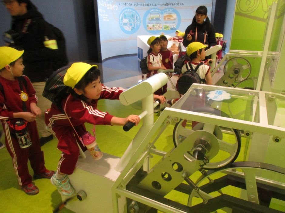 お別れ遠足 鉄道博物館へ行ってきました! 体験コーナーを楽しみました♪