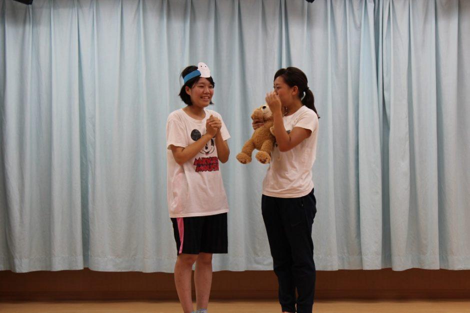 7月・8月 お誕生会 劇『お泊り保育は楽しいな』年長さん もうすぐですね(^^)