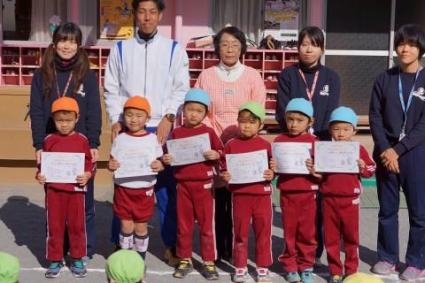 2015.1 マラソン大会 ゆり男の子表彰式