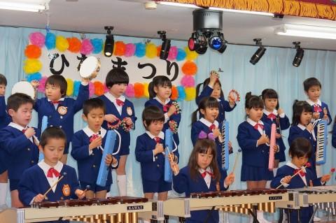 2015.2  ひな祭りおゆうぎ会(午前の部) ゆり2 うたと合奏