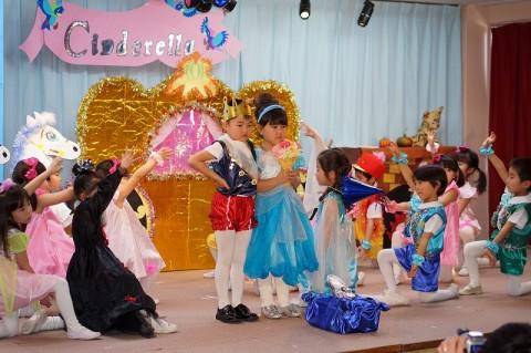 2015.2  ひな祭りおゆうぎ会(午前の部) ゆり2 劇「シンデレラ」