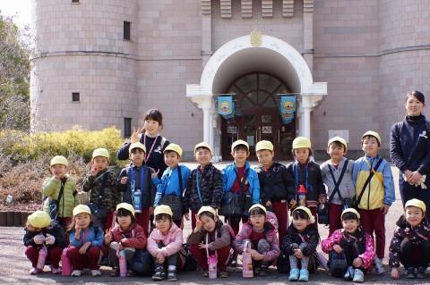 2015.2.28 おわかれ遠足(年長) 「こどもの城」到着!!
