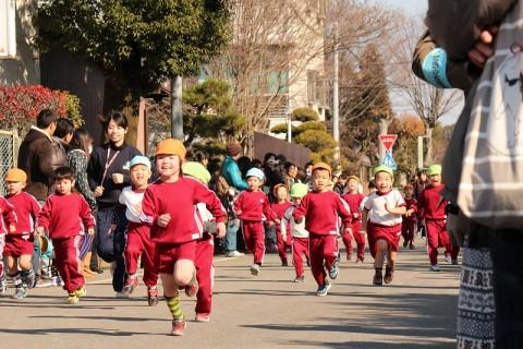 2015.1 マラソン大会 転ばないようにね~~~!
