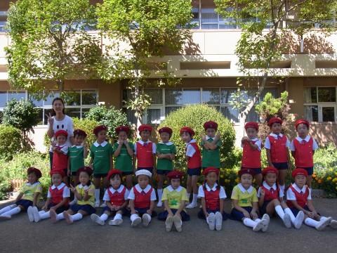鶴西祭鼓隊(鶴ヶ島市立西中学校にて) きく2