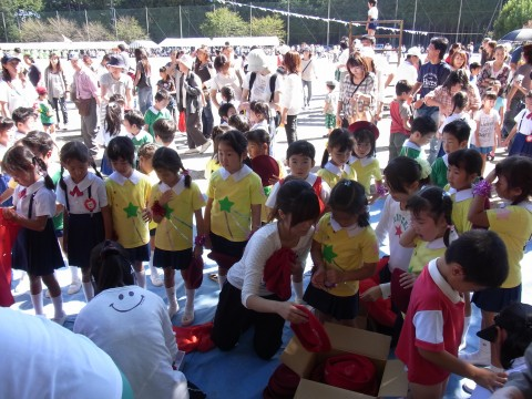 鶴西祭鼓隊(鶴ヶ島市立西中学校にて) みんなおつかれさま!!とってもかっこよかったよ!