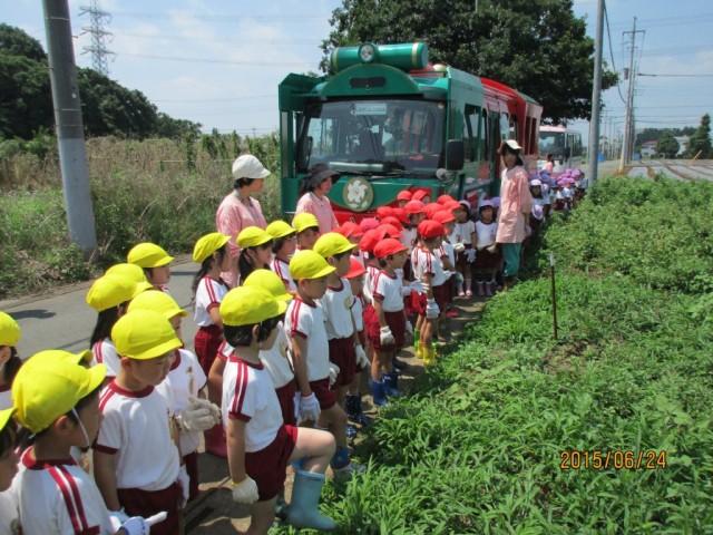 6月24日ジャガイモ掘り