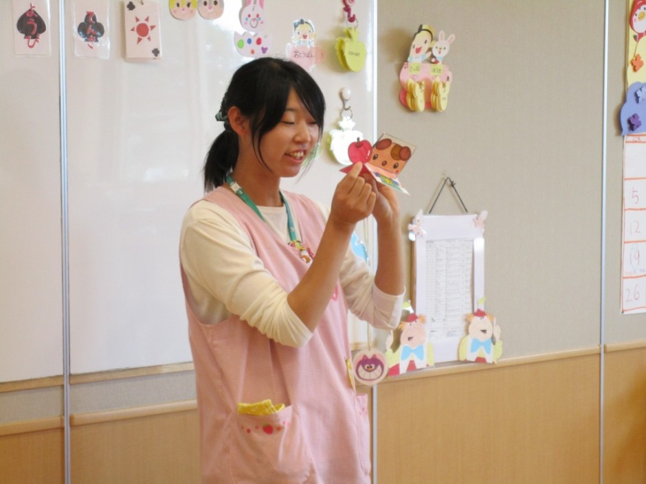 歯磨き大会6月3日 パックンおいしいものばかり食べていると虫歯になるよ。