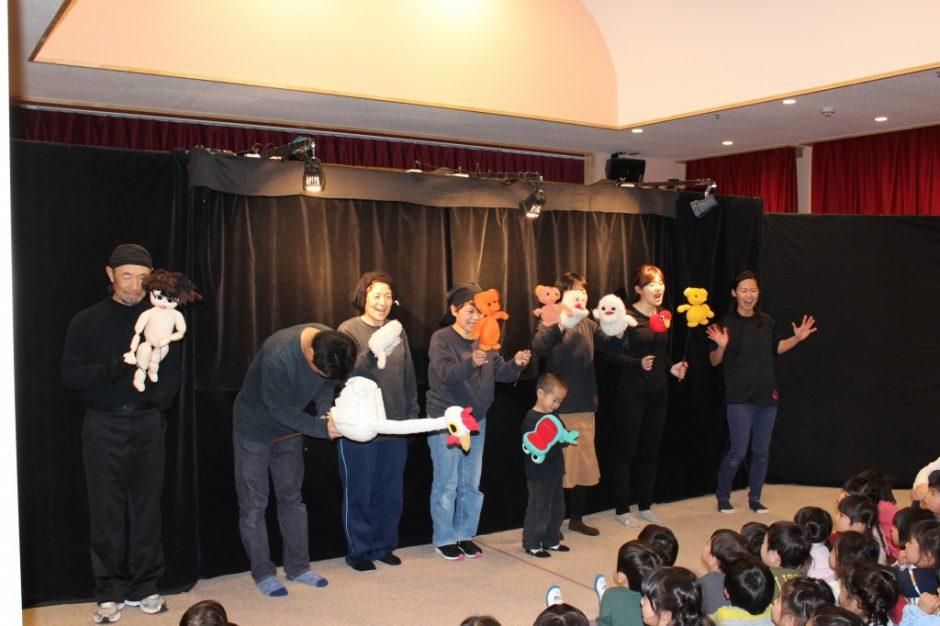 3月 お誕生会 劇団おっぺの皆さん ありがとうございました(^^)