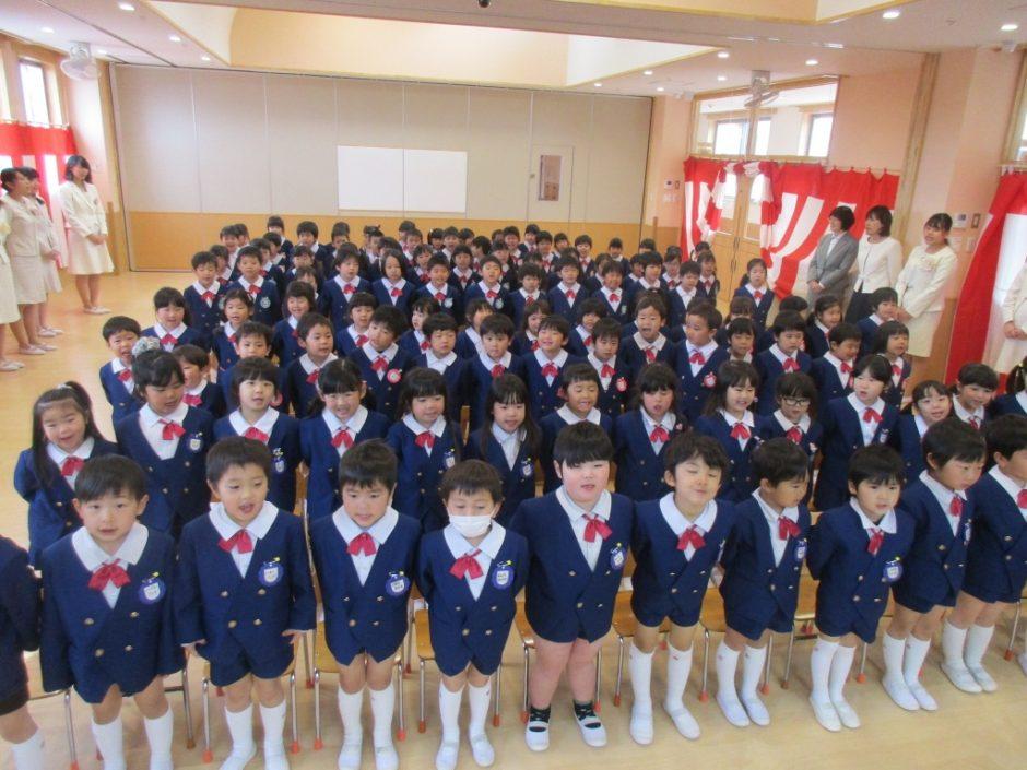 平成29年度 終業式 もうすぐ進級するみんな、立派に整列しています☆