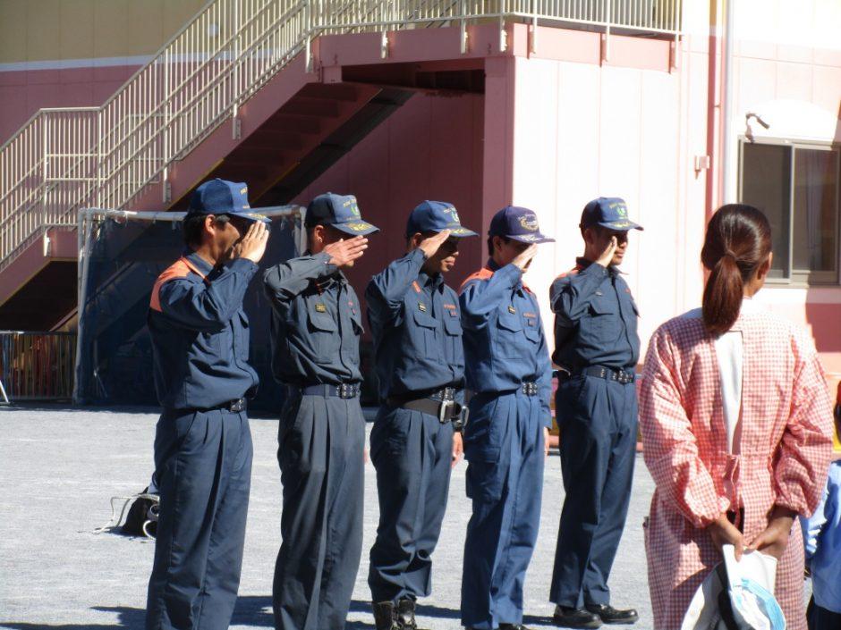 防火講習 いつもみんなの安全を見守ってくださってありがとうございます!