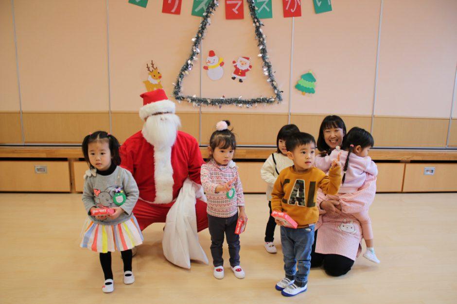 バンビクラブ クリスマス会 サンタさん、来てくれてありがとうございました♪