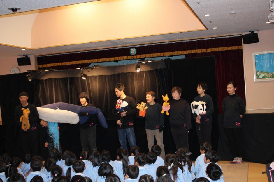 お誕生会 2月 劇団オッペの皆さん、ありがとうございました♪