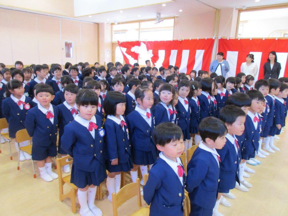 令和元年度 終業式 令和元年度の卒業式が行われました