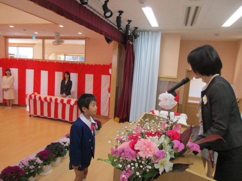 令和元年度 終業式 皆勤賞の表彰です☆一年間元気に通えましたね(*^^*)