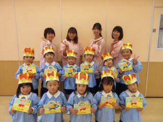 10月 幼稚園部 お誕生日会