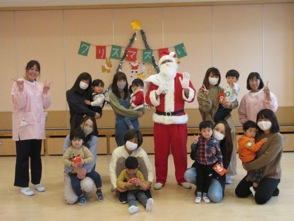バンビクラブ クリスマス会 みなさん素敵な笑顔ですね(^^)♪