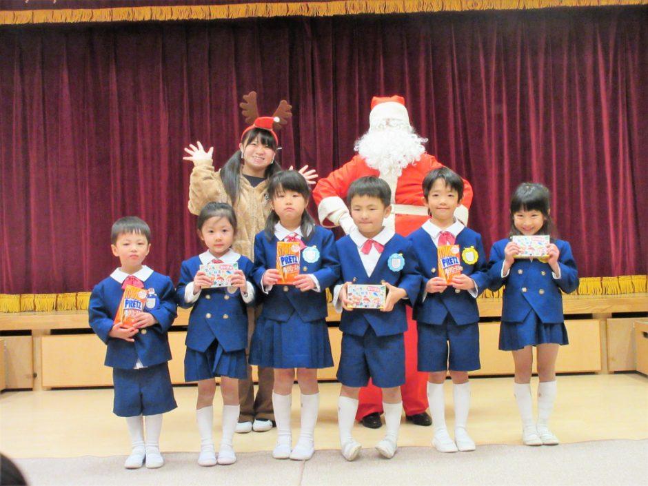 幼稚園部 クリスマス会 とてもよいクリスマス会になりましたね! サンタさん遠くからきてくれてありがとう~♪