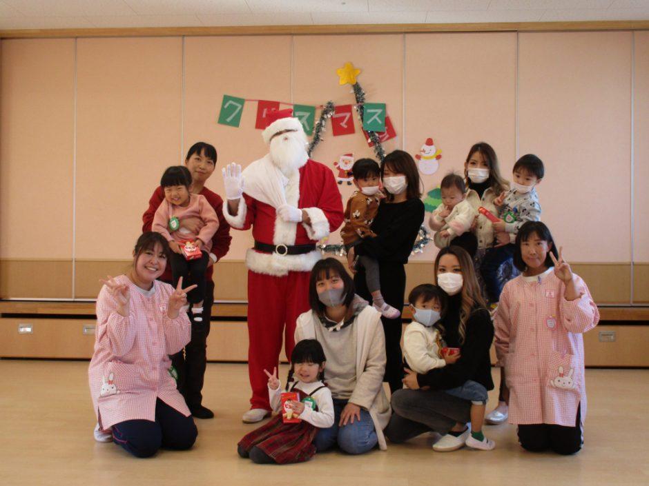 バンビクラブ クリスマス会 みんなのおうちにも来てくれるといいですね(*^-^*)