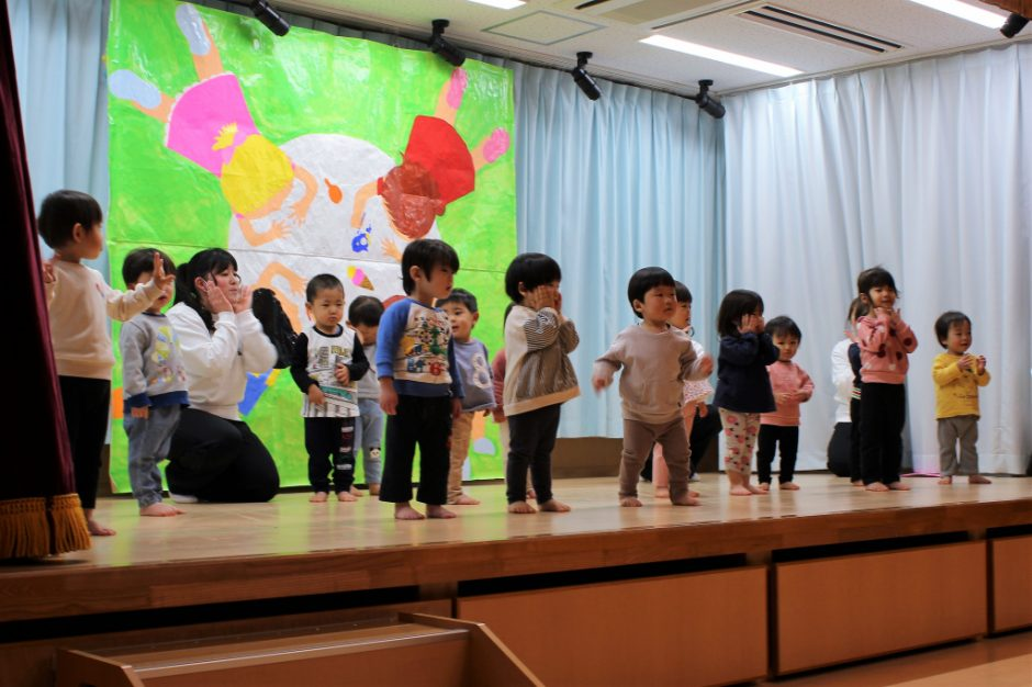 ひな祭りお遊戯会 保育園部 アンコール♪「キラリン☆フルーツパフェ」