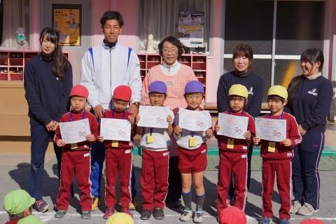 2015.1 マラソン大会 きく男の子表彰式