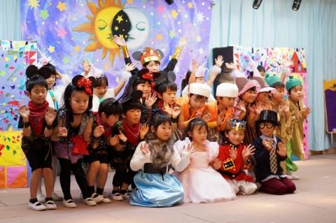ひな祭りおゆうぎ会(午後の部) きく2 ことば劇 「くるみ割り人形」