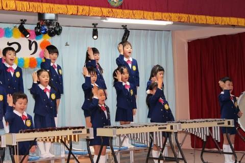 2015.2  ひな祭りおゆうぎ会(午後の部) きく1 うたと合奏 手話