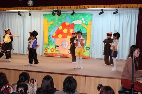 「ひなまつりおゆうぎ会」(午後の部) 『ピノキオ』 きく2