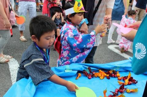 夏祭り 2014 金魚すくい・・・