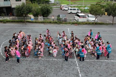夏祭り 2014 今年は、笹久保さくら保育園での「夏祭り」・・・始まりです!