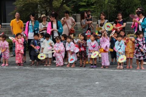 夏祭り 2014 ゆり・ももさんもいっぱい応援しました!!