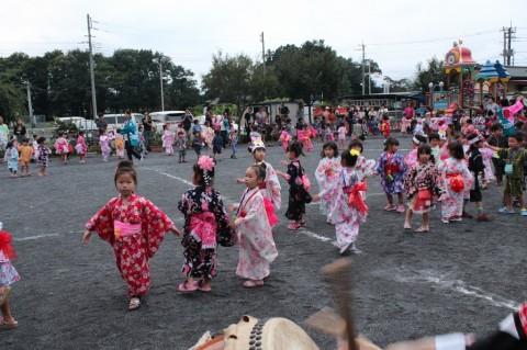 夏祭り 2014 盆踊りもとっても上手に楽しく踊れました!!