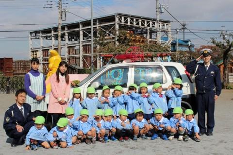 11月11日に交通安全教室が開かれました! ゆり3くみ