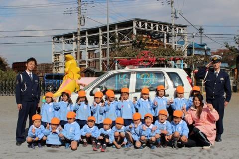 11月11日に交通安全教室が開かれました! ゆり2くみ