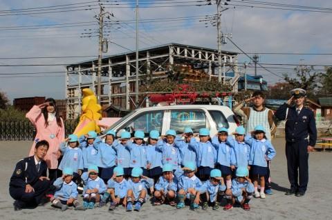 11月11日に交通安全教室が開かれました! ゆり1くみ