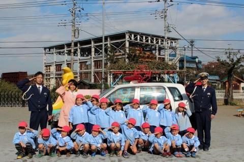 11月11日に交通安全教室が開かれました! きく2くみ