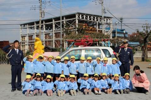 11月11日に交通安全教室が開かれました! きく1くみ