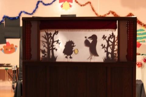 平成25年度 クリスマス会 「はりねずみと金貨」・・・素敵な物語でした・・・。