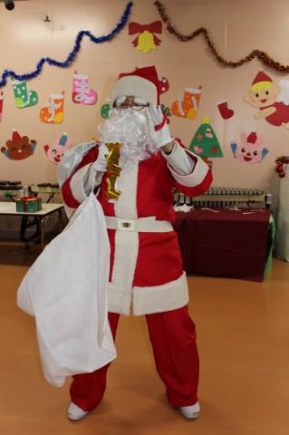 平成25年度 クリスマス会 今年のサンタは・・・???