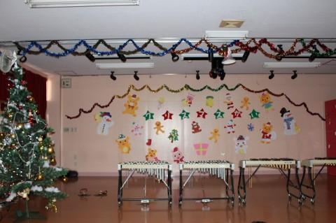 クリスマス会 2学期最後の楽しい行事! クリスマス会