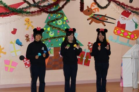 2014 クリスマス会 ゆり 「ミッキーマウス・マーチ」