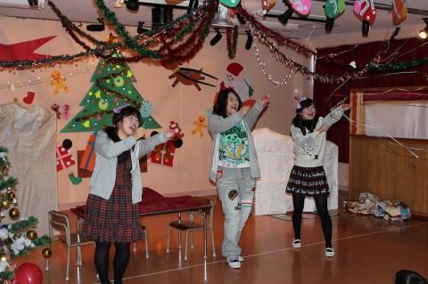2014 クリスマス会 最後は、劇チーム!!今年の内容はどんなかな~???