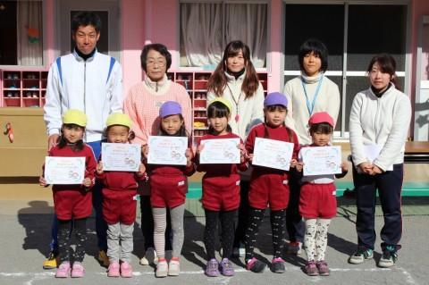 マラソン大会(2) ゆりぐみ 女の子