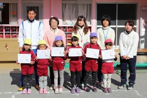 マラソン大会(2) きくぐみ 女の子