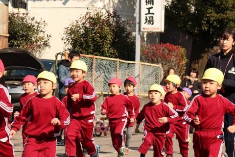 2015.1 マラソン大会 迫力の走りです!