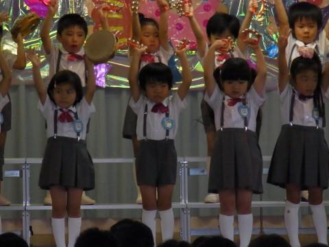 七夕おたのしみ会(午後の部) 楽しく演奏ができました