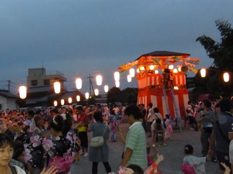 夏祭り 「鶴ヶ島音頭」も上手に踊れるよ!!