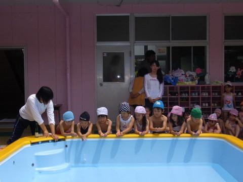 プール開き 水の安全を祈ります・・・。