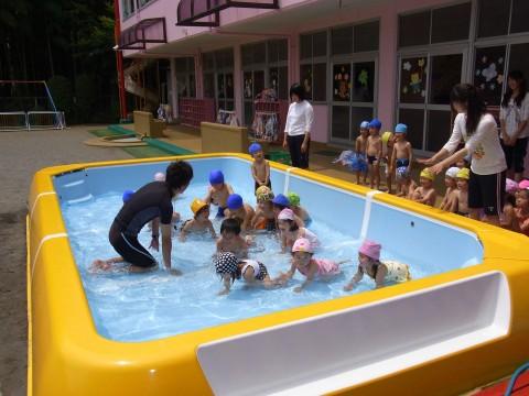 プール開き お天気もよくなって子どもたちは大喜び!!