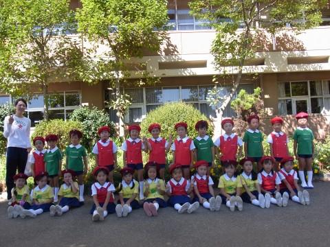 鶴西祭鼓隊(鶴ヶ島市立西中学校にて) きく3